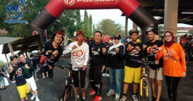 Anggota DPC Pemuda Pancasila Kota Prabumulih Ikuti Fun Bike