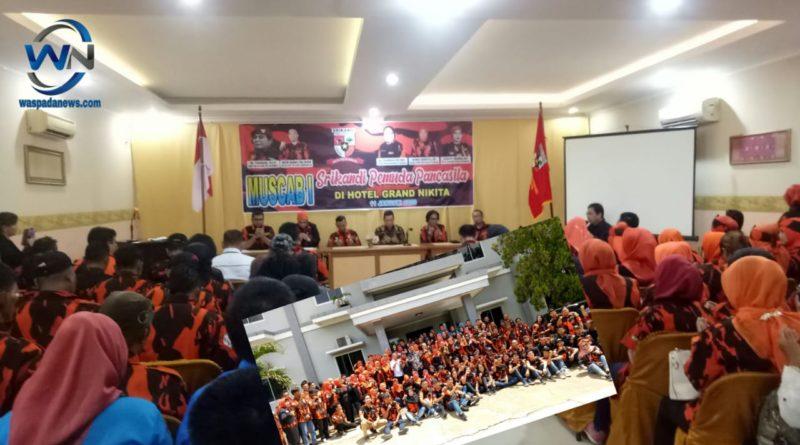Pemuda Pancasila Kota Prabumulih Adakan Muscab Pertama Srikandi PP dan Sapma PP