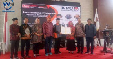 Lounching Sekolah Demokrasi KPU Kota Prabumulih