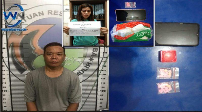 Memiliki Pil Setan Pria dan Wanita ini Ditangkap Polisi
