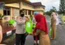 Kapolres Prabumulih Serahkan Bantuan Dari Ketua Bhayangkari Sumsel