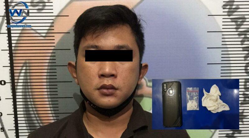 Niat Transaksi Narkoba, Pemuda ini Dibekuk Polisi