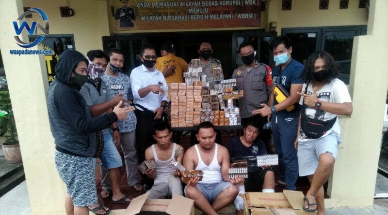 Bongkar Toko Kuras Rokok, 3 Pelaku Diringkus Polisi