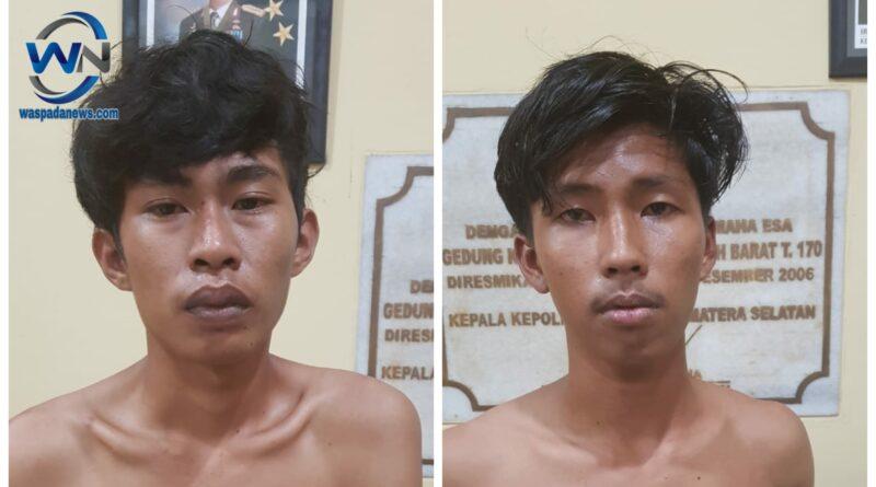 Dua Pelaku Percobaan Pencurian Sepeda Motor Diringkus Polisi
