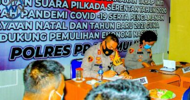 Dipimpin Kapolri, Kapolres Prabumulih Ikuti Apel Kasatwil Tahun 2020