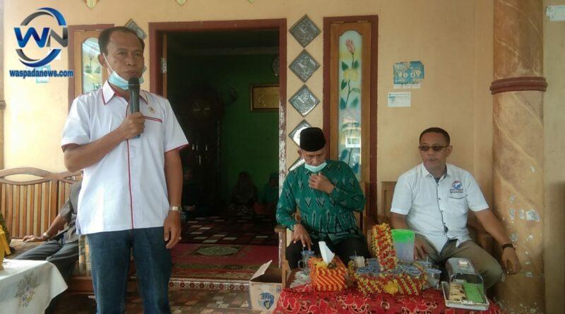 DPD Perindo MUBA Gelar Yasinan Diacara Edukasi Politik Semoga Berkah