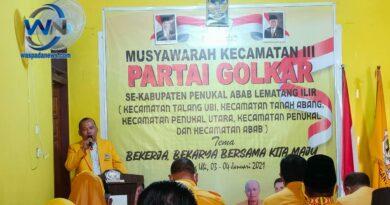 DPD Partai Golkar Pali Gelar Muscam III Serentak
