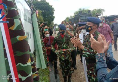 Kapolda Sumsel Resmikan Batalyon D Pelopor SatBrimob Polda Sumsel
