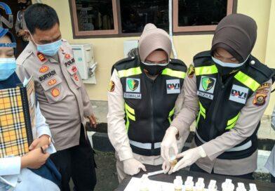 Polres Prabumulih Laksanakan Kegiatan Tes Urin Dadakan