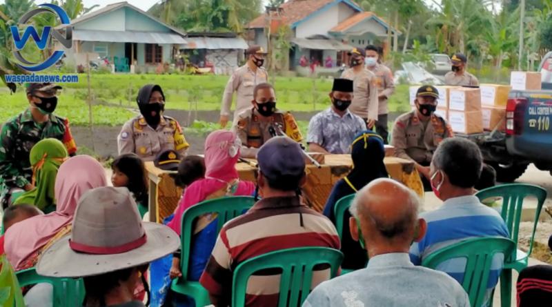 Kegiatan Bakti Sosial Polres Prabumulih dan Pemeriksaan Kesehatan Kepada Warga