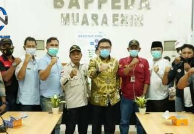 Plh Bupati Muara Enim Berjanji Kepada Awak Media dan Ormas