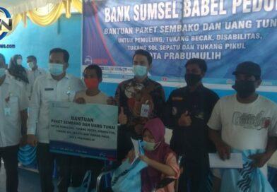 BSB dan Pemkot Prabumulih Serahkan Bantuan Sembako dan THR